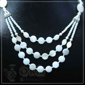 Ayasham Stone Three Layer Necklace