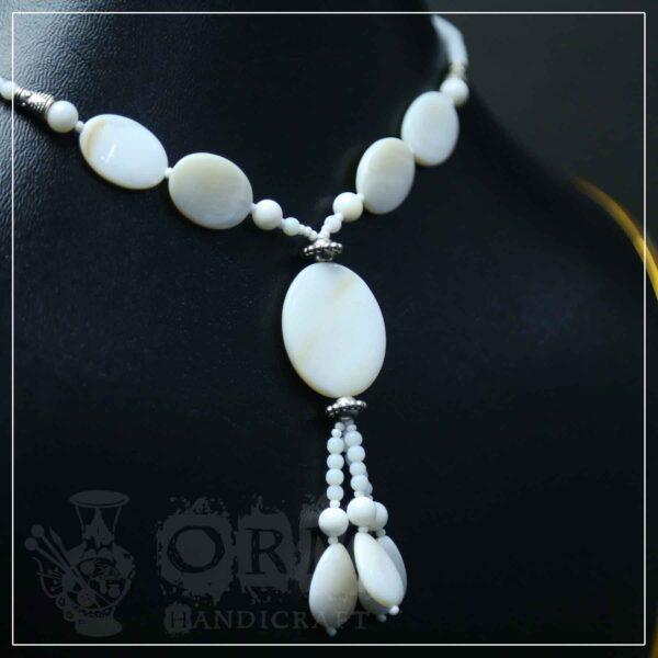 Ayasham White Necklace
