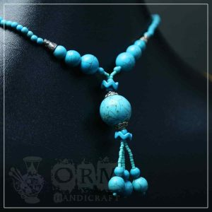 Feroza Turquoise Stone Necklace