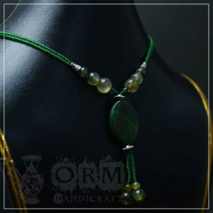 Sadaf Green Stone Locket