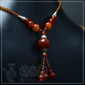 Aqeeq Stone Necklace