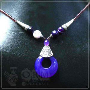 Neelam Stone Necklace