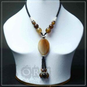 Sadaf Brown Necklace