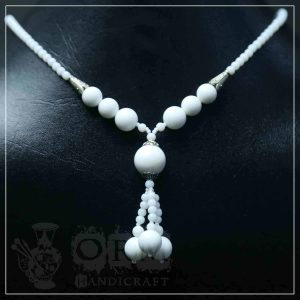 Sadaf White Necklace