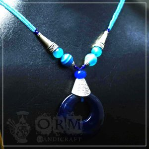 Shams Blue Stone Necklace