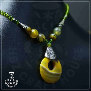 Shams Yellow Necklace