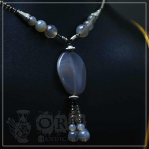 Sharf-e-Shams Gray Stone Locket