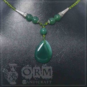 Dark Green Stone Locket