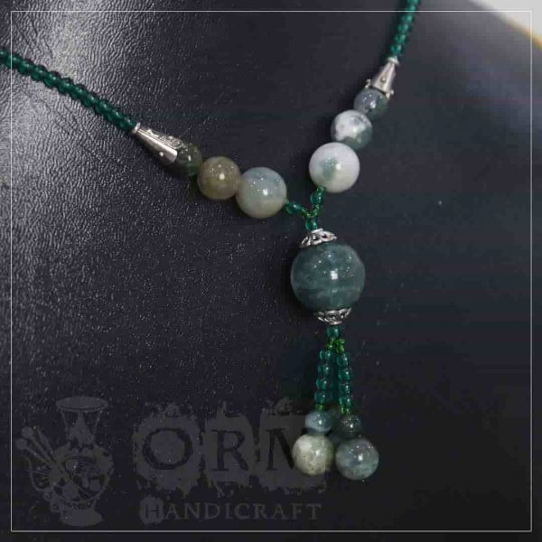 Sadaf Green Necklace