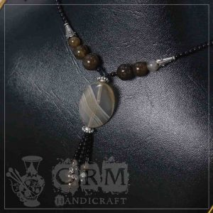 Tigerr Stone Flat Necklace