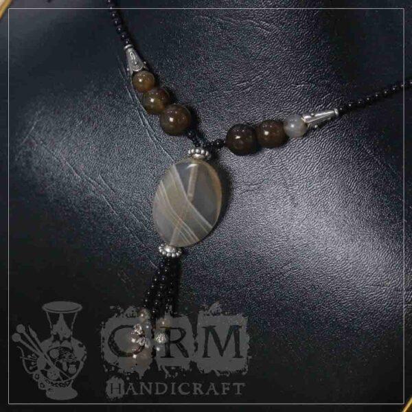 Tigerr Stone Flat Necklace