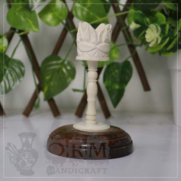 Candle Stand - Camel Bone Craft