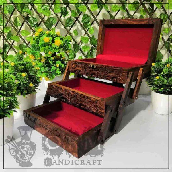 Wooden Beauty Box