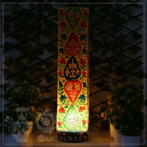 Camel Skin Lamp Box (Flower Design)