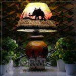 Camel Skin Lamp (Carvan Design)