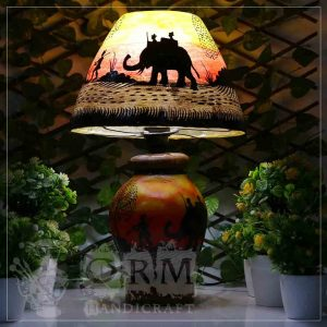 Camel Skin Lamp (Carvan Design)