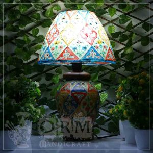 Camel Skin Lamp (Flower Design)