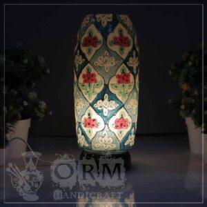 Medium Camel Skin Lamp Bottle Glass (Bull Design)