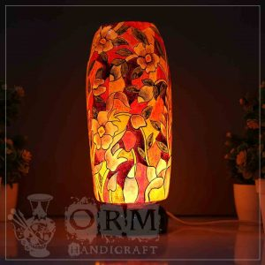 Medium Camel Skin Lamp Bottle Glass (Fakeeri Design)