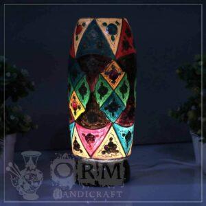 Medium Camel Skin Lamp Bottle Glass (Malang Design)