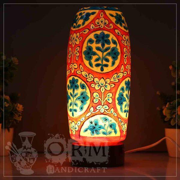 Medium Camel Skin Lamp Bottle Glass (Suraj Design)