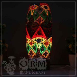 Medium Camel Skin Lamp Bottle Glass (bazurgh Design) 1