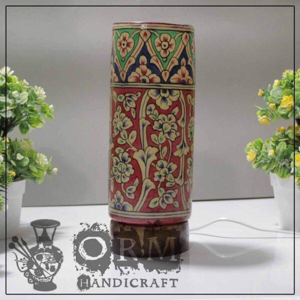Medium Camel Skin Lamp Glass (Jungle Design)