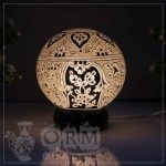 Medium Camel Skin Lamp Globe (Sufia Design)