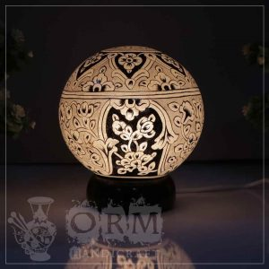 Medium Camel Skin Lamp Globe (Sufia Design)
