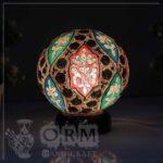 Medium Large Camel Skin Lamp Globe (Clean Design) (2)