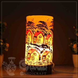 Small Camel Skin Lamp Glass (Darvesh Design)