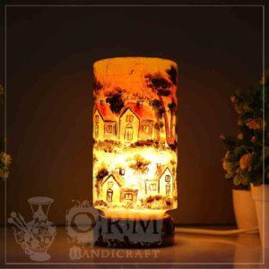 Small Camel Skin Lamp Glass (Darvesh Design)