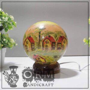 Small Camel Skin Lamp Globe (Darvesh Design )