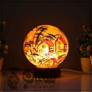 Small Camel Skin Lamp Globe (Darvesh Design)