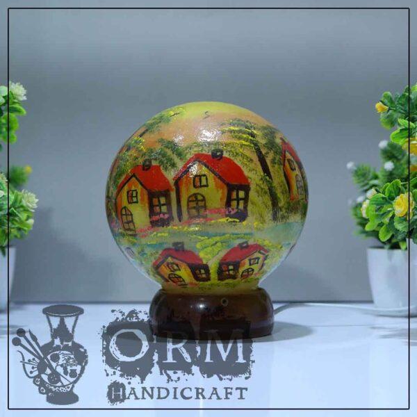 Small Camel Skin Lamp Globe (Darvesh Design)