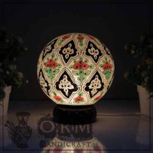Small Camel Skin Lamp Globe (Seed Design)