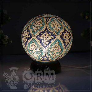 Small Camel Skin Lamp Globe (Zarish Design)