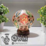 Small Camel Skin Lamp Globe (Zartash Design)